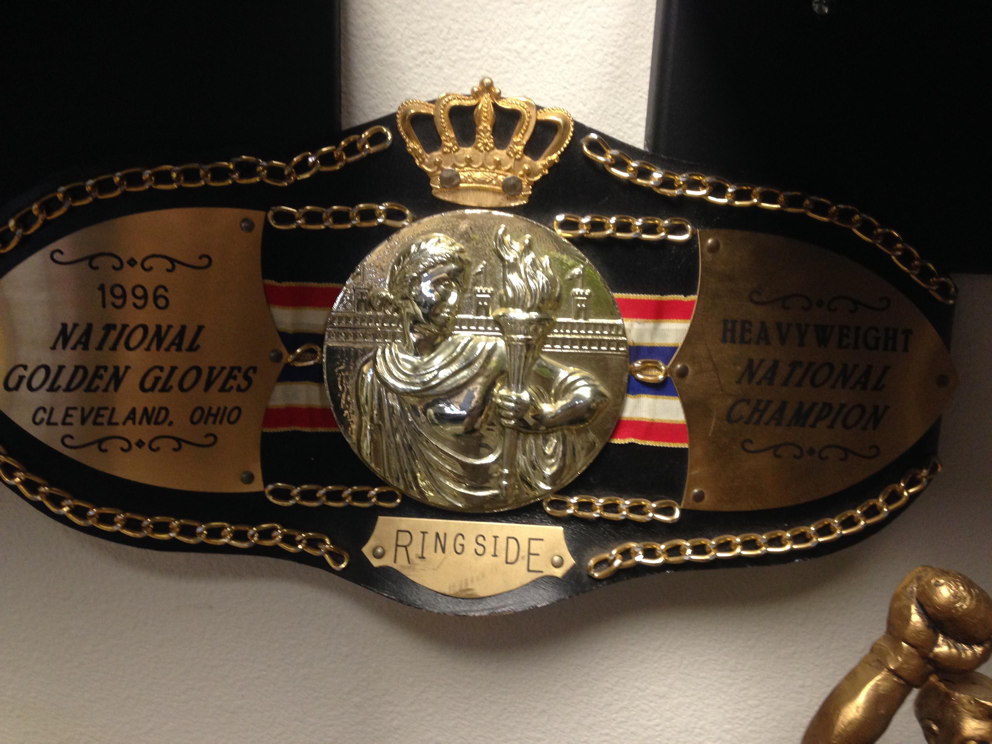 Golden Gloves Heavyweight Champion